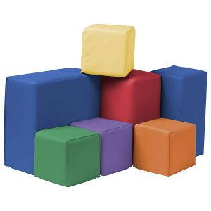 ECR4Kids Softzone Foam Big Building Blocks 7 Set