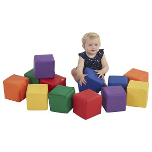 ECR4Kids Softzone Toddler Play Soft Blocks