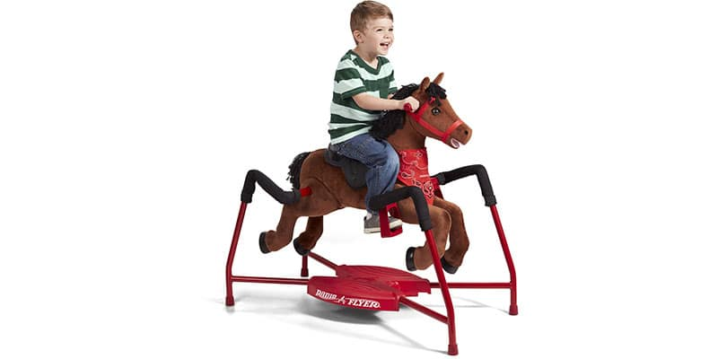 Radio flyer rocking horse with sound
