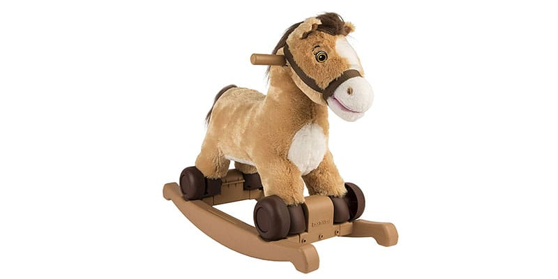 Rockin rider candy 2 in 1 pony ride on