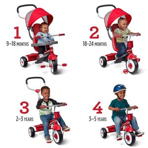 Radio Flyer 4-in-1 Stroll and Trike